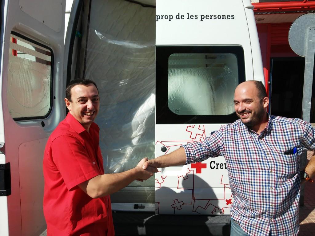 Colaboracion Muebles BOOM y Cruz Roja II